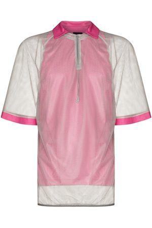 Saul Nash Mesh short-sleeve polo-shirt