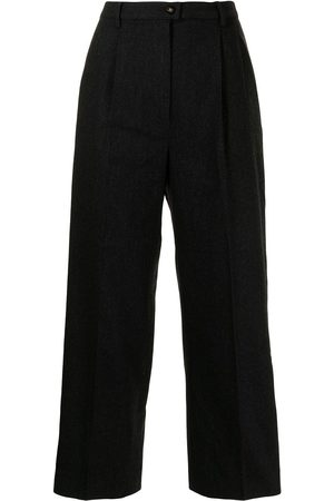 Chanel Pre-Owned Side-logo tailored trousers