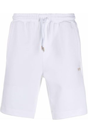 HUGO BOSS Straight-leg track shorts