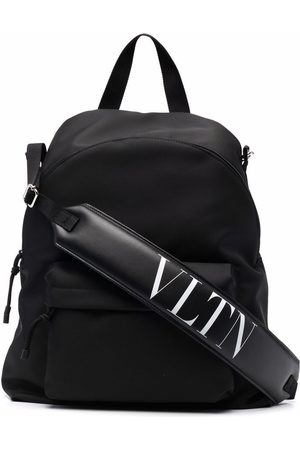 Valentino Garavani Logo-strap backpack
