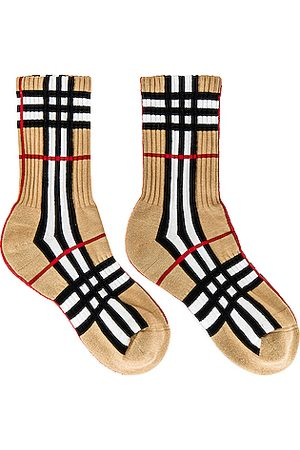 Burberry Vintage Check Socks in Archive