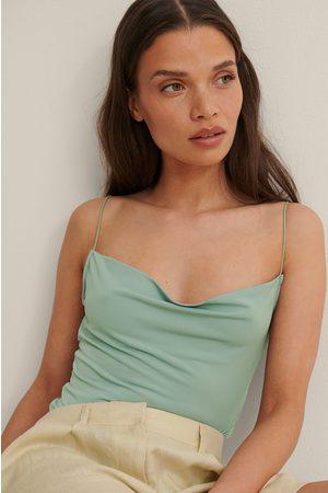 Trendyol Cowl Neck Body - Green
