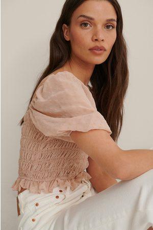 Trendyol Shoulder Detail Top - Pink