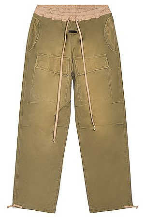 FEAR OF GOD Military Cargo Pant in Army