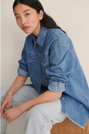 Trendyol Milla Jeans Jacket - Blue