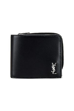 Saint Laurent Zip Wallet in in