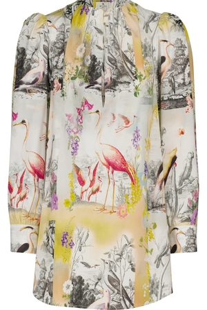 Etro Women Blouses - Printed cotton blouse