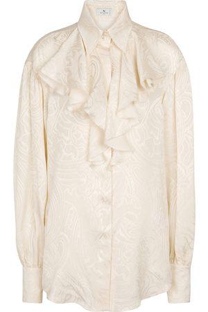 Etro Paisley silk shirt