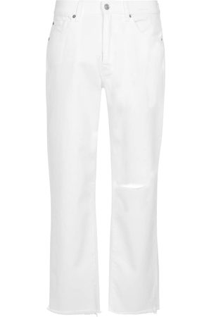 7 for all Mankind Women High Waisted - The Modern high-rise straight jeans