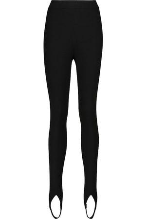 Tom Ford Cashmere-blend stirrup leggings