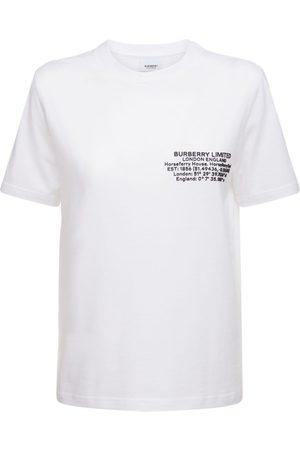 Burberry Jemma Cotton Jersey T-shirt