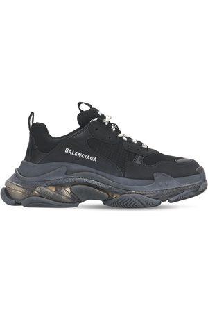 Balenciaga Women Trainers - 60mm Triple S Clear Sneakers