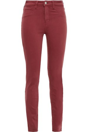 L'Agence Women Skinny - Woman Marguerite High-rise Skinny Jeans Brick Size 23