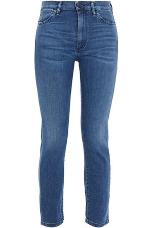 3x1 Woman High-rise Skinny Jeans Dark Denim Size 24