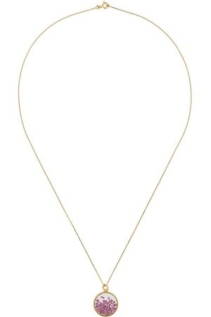 Aurélie Bidermann Women Necklaces - 18kt yellow gold Chivor ruby necklace - Metallic