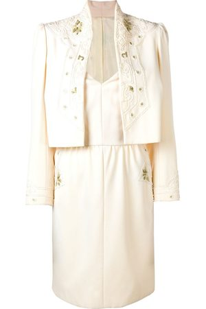A.N.G.E.L.O. Vintage Cult Odicini Couture dress & jacket - Neutrals