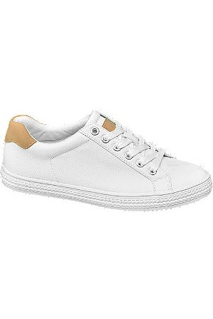Graceland Women Trainers - Canvas Lace Up Trainers