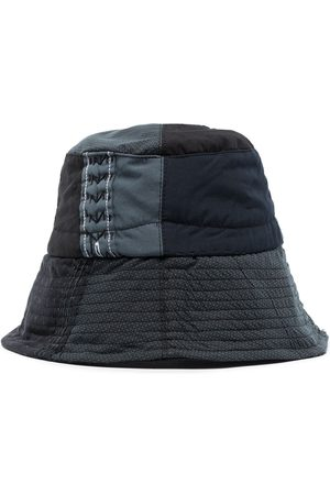 BY WALID Shirting patchwork bucket hat