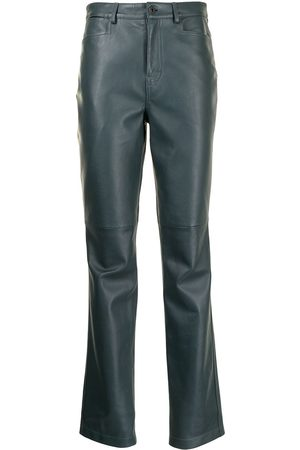 PROENZA SCHOULER WHITE LABEL Straight leather trousers