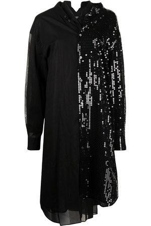 JUNYA WATANABE Sequin-panelled shirt dress