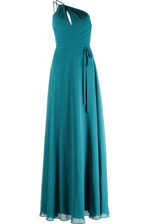 Marchesa Notte Pescara one-shoulder bridesmaid gown