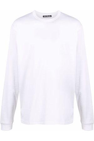 Acne Studios Face-patch long-sleeve T-shirt