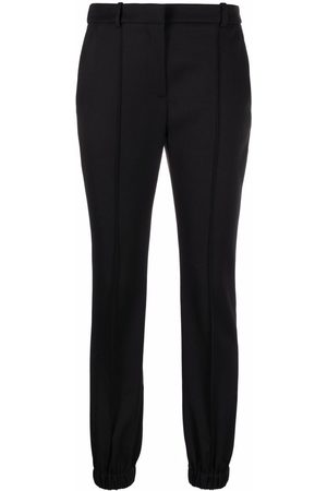 Alexander McQueen Elasticated-ankle tailored trousers