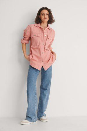 Trendyol Miranda Denim Jacket - Pink