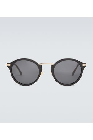 Gucci Men Sunglasses - Round acetate and metal sunglasses