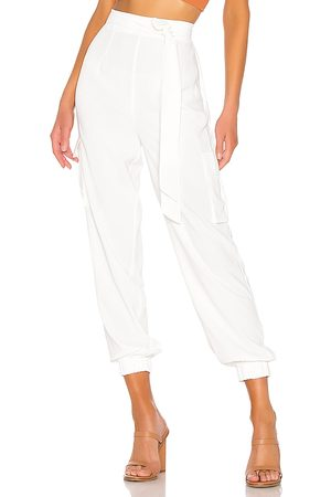 superdown Women Cargo Trousers - Rachel Cargo Pant in . Size XS, S, M, XL.