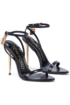 Tom Ford Women Sandals - Padlock leather sandals
