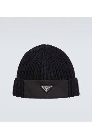 Prada Wool and Re-Nylon gabardine hat