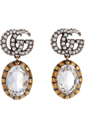 Gucci Double G embellished earrings
