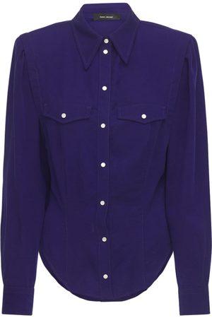 Isabel Marant Women Shirts - Tanalki Lyocell Shirt