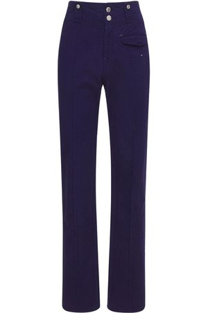 Isabel Marant Women Trousers - Dilirok Straight Cotton Pants