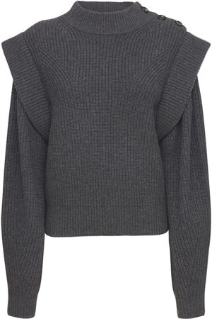 Isabel Marant Women Jumpers - Peggy Wool Blend Knit Sweater