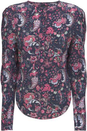 Isabel Marant Women Blouses - Bavali Printed Silk Blouse