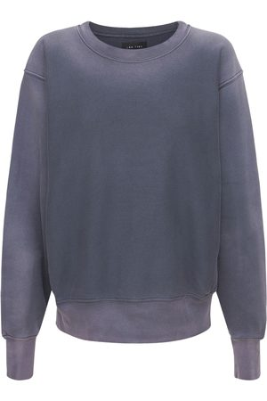 Les Tien Women Sweatshirts - Gradient Cotton Sweatshirt