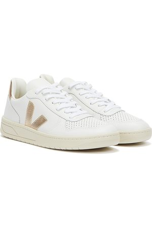 Veja Women Trainers - V-10 Leather Womens Extra / Platine Trainers