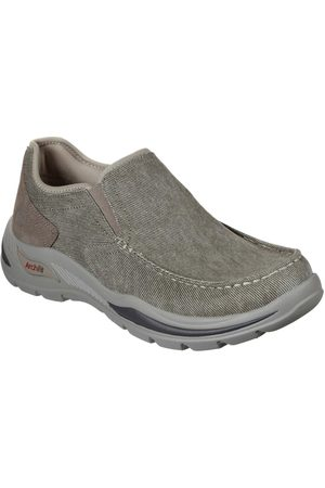 Skechers Moc Toe Canvas Slip On
