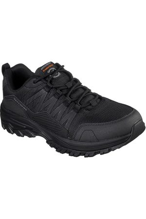 Skechers Men Boots - Work Fannter Lace Up Shoes