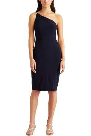Lauren by Ralph Lauren Women Party Dresses - Hollynn One Shoulder Cocktail Dress