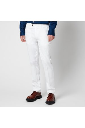 CANALI Men Trousers - Men's Cotton Silk Stretch Chinos