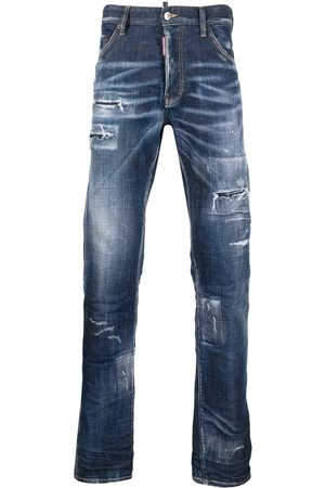 Dsquared2 Distressed bootcut jeans