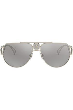 Versace Eyewear Medusa aviator-frame sunglasses