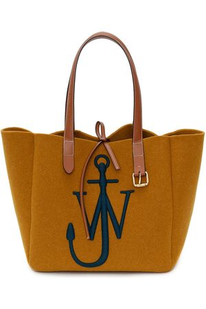 JW Anderson Logo-embroidered Belt tote