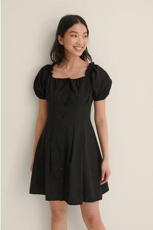 Trendyol Square Neck Mini Dress - Black