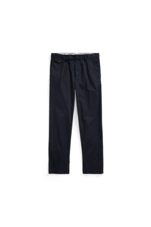 Polo Ralph Lauren Men Skinny Trousers - Stretch Slim Tapered Fit Pleated Trouser
