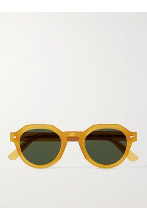 AHLEM Men Sunglasses - Grenelle Round-Frame Acetate Sunglasses
