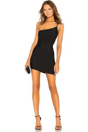superdown Rumer Asymmetrical Mini Dress in . Size XXS, XS, S, L, XL.